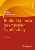 Methoden der empirischen Sozialforschung – Ein Überblick