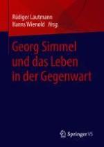 Annäherungen an Georg Simmel