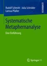 Metaphern und metaphorische Konzepte – kognitive Linguistik nach Lakoff und Johnson