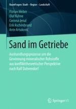Einleitung: Sand im Getriebe? Konflikte um die Gewinnung mineralischer Rohstoffe als komplexe Herausforderungen
