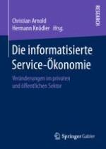 Zu den Herausforderungen der Informatisierung der Service-Ökonomie aus einzelwirtschaftlicher Sicht