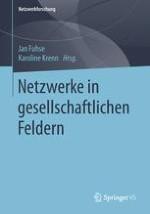 Netzwerke in gesellschaftlichen Feldern: Problemaufriss und Forschungsüberblick