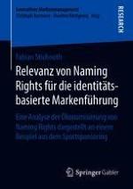 Relevanz von Naming Rights als Untersuchungsgegenstand