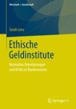 Entwicklung und Etablierung des ethischen Bankgeschäfts