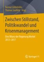"""Die Große Koalition 2013–2017: Eine Koalition der """"Getriebenen""""?"""