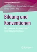 Das Potenzial der Soziologie der Konventionen für die Bildungsforschung