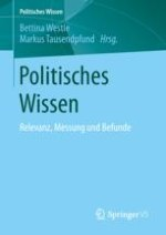 Politisches Wissen: Relevanz, Messung und Befunde