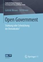 "Repräsentative Demokratie und ""offenes"" Regieren"
