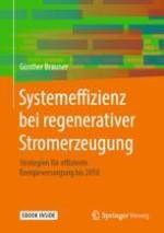 Kurzfassung des Buches: Regenerative Systemeffizienz