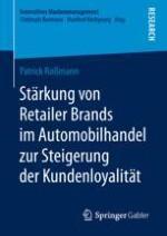 Retailer Brands im Automobilhandel als zentraler Untersuchungsgegenstand