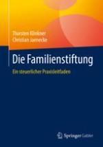 Errichtung einer Familienstiftung