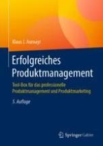 Produktmanagement: Positionierung, Kernkompetenzen und organisatorische Einbindung