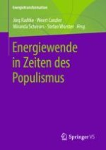Energiewende in Zeiten populistischer Bewegungen – Einleitende Bemerkungen