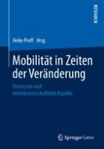 Einordnung: Mobilität in Zeiten von Veränderung