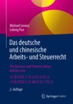 Das deutsche und chinesische Arbeits- und Steuerrecht