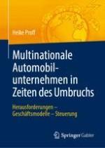 Multinationale Automobilunternehmen in Zeiten des Umbruchs – Eine Einführung