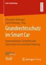 Kommunikation, Sicherheit und Datenschutz im vernetzten Fahrzeug