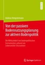 "Bodenpolitik im Kontext des ""Galmiz-Problems"" der Raumplanung"