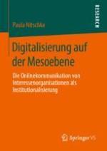 Einleitung: Interessenorganisationen in der Onlinewelt