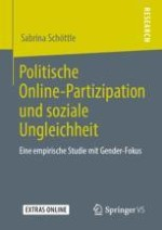 Politische Online-Partizipation von Frauen und Männern