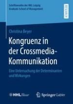 Kongruenz als Ansatz in der Crossmedia-Werbung