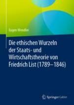 Die Bedeutung der Philosophie für die Staats- und Wirtschaftstheorie aus der Sicht von Friedrich List