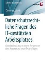 Einleitung Datenschutz und Digitalisierung