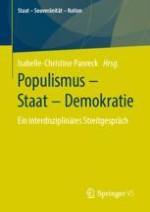 Populismus interdisziplinär denken – ein Plädoyer für den wissenschaftlichen Austausch