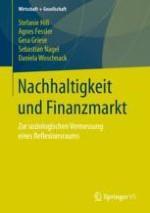 Einleitung: Nachhaltigkeit und Finanzmarkt – zur soziologischen Vermessung eines Reflexionsraums