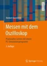 Arbeiten und Messen mit dem analogen Oszilloskop