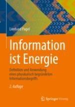 Der Informationsbegriff – eine Einführung