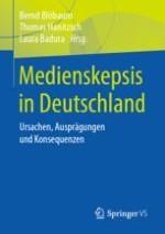 Medienskepsisin Deutschland: Zur Einführung