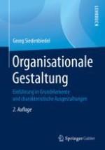 Zum Gegenstandsbereich der Organisationslehre