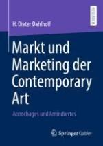 Einführung Markt und Marketing der Contemporary Art – Accrochages und Arrondiertes