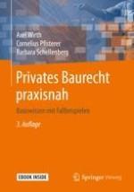 Einführung in das private Baurecht