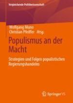 Populismus an der Macht?! Theoretische Konzepte und empirische Diskussionen