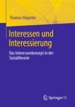 Einleitung: Interessen und Konzepte