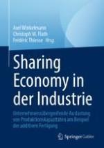 Sharing Economy in der Industrie – Eine Einführung