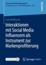Die Relevanz von Social Media Influencern (SMIs) als Instrument zur Markenprofilierung
