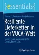 Einleitung: Resilienz in Lieferketten