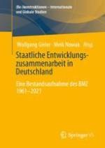 Entwicklungspolitik im Primat der Außenpolitik: Walter Scheel (1961–1966)
