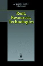 Historical and theoretical introduction to rent, resources and technologies
