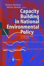 The Political System's Capacity for Environmental Policy: The Framework for Comparison