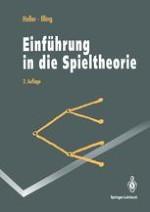 Einfuhrung In Die Spieltheorie Springerprofessional De
