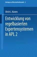 Expertensysteme und APL2
