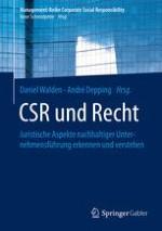 Die Bedeutung von CSR für die Unternehmensleitung