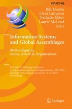 Information Systems and Assemblages