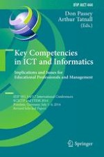 Building Basic Competences for Culturally Diverse ICT Professionals
