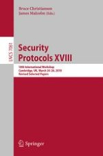 Introduction: Virtually Perfect Security (Transcript of Discussion)