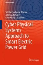 Modeling and Simulation of Network Aspects for Distributed Cyber-Physical Energy Systems